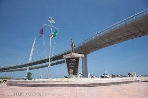 Fußgänger- und Fahrradbrücke in Pescara