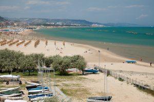 Strand in Pescara