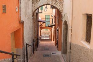 In den engen Gassen der Altstadt von Lanciano.