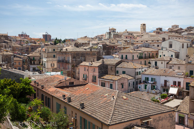 Blick über die Dächer von Lanciano.